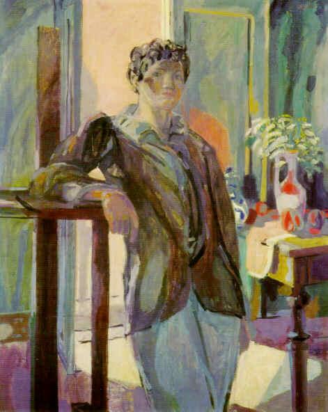 """<strong>Paolo</strong>  Montrouge, 1934  Oel auf Leinwand. 162 x 130 cm  Bezeichnet unten rechts: """"M Gubler""""  Privatbesitz   Werkkatalog Nr. 409"""